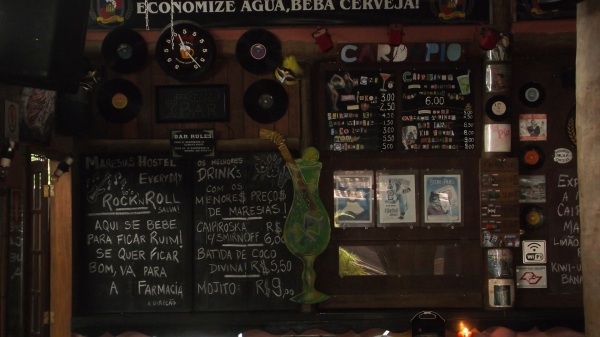 Bar Albergue Maresias